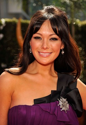 Lindsay Price in J. Mendel and Fred Leighton jewels